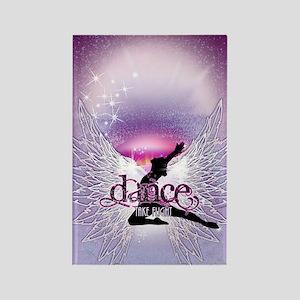 Dance Angel by DanceShirts.com Rectangle Magnet