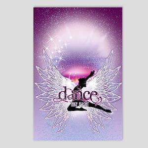 Dance Angel by DanceShirt Postcards (Package of 8)