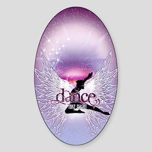 Dance Angel by DanceShirts.com Sticker (Oval)