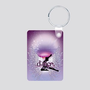 Dance Angel by DanceShirts Aluminum Photo Keychain