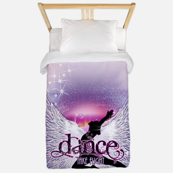 Dance Angel by DanceShirts.com Twin Duvet