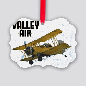 Valley Air Picture Ornament