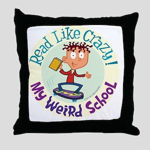 6mwsajskatecolorcircle Throw Pillow