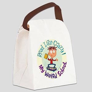 6mwsajskatecolorcircle Canvas Lunch Bag