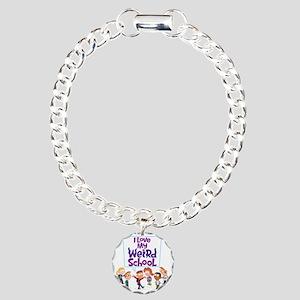 4ilovemwsallkidscolor Charm Bracelet, One Charm