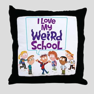 4ilovemwsallkidscolor Throw Pillow