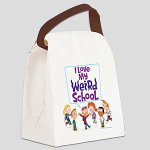 4ilovemwsallkidscolor Canvas Lunch Bag