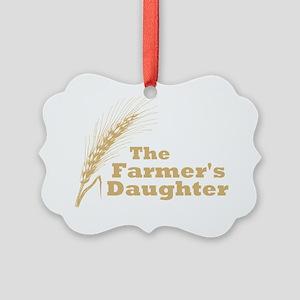 Farmers Daughter 2 Picture Ornament