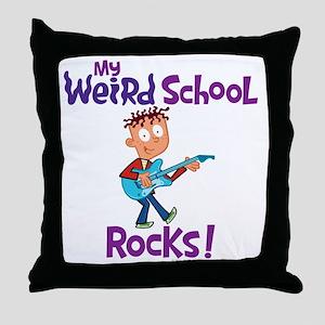 7mwsrockscolor Throw Pillow