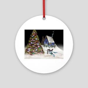 buntreecard Round Ornament
