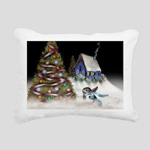 buntreecard Rectangular Canvas Pillow