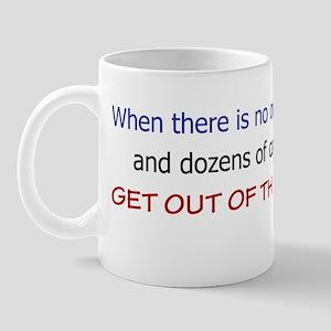 Get Out of the Left Lane Mug