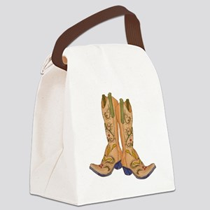 CowgirlBootCP2 Canvas Lunch Bag
