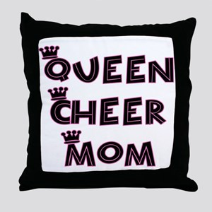 Queen Cheer Mom Throw Pillow