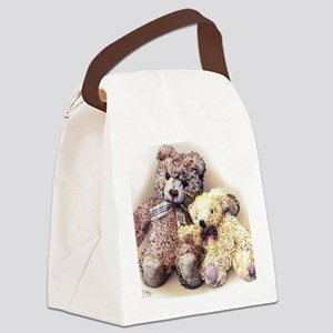 Teddies Canvas Lunch Bag