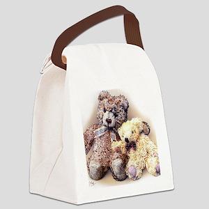 Teddies Canvas Lunch Bag