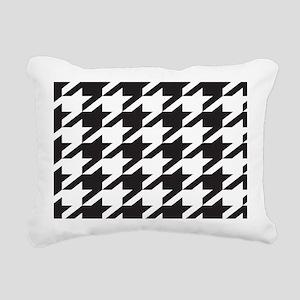 houndsooth 7 Rectangular Canvas Pillow