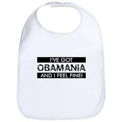 I've Got Obamania! Bib