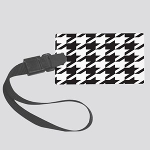 houndsooth tag 1 Large Luggage Tag