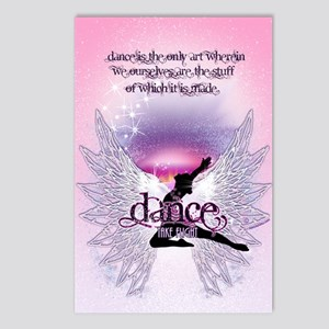 Dance is the Only Art Pos Postcards (Package of 8)