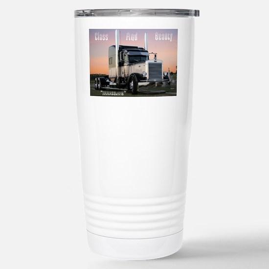 CLASSBEAUTY Stainless Steel Travel Mug