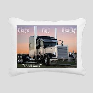 CLASSBEAUTY Rectangular Canvas Pillow