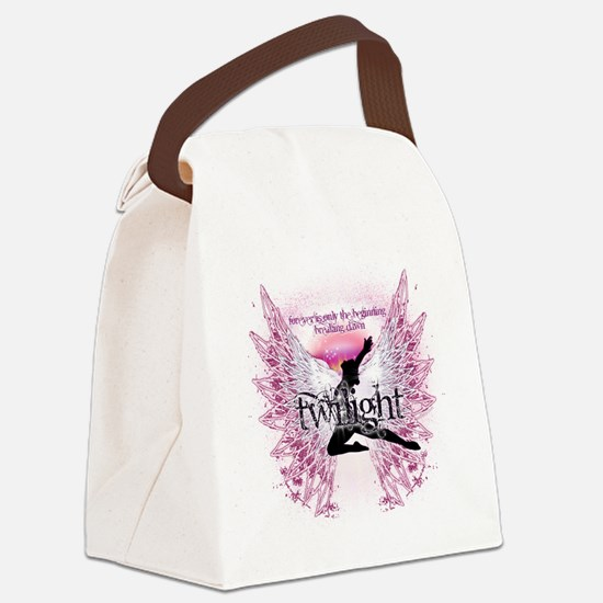 breaking dawn crystal angel by tw Canvas Lunch Bag