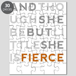 She is Fierce 16x20 Puzzle