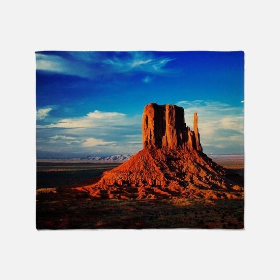 Monument Valley Icon Throw Blanket