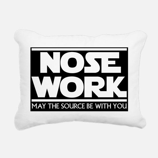 TheSource_black_TShirts Rectangular Canvas Pillow