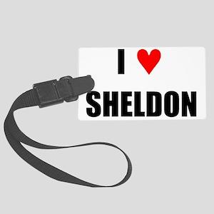 Sheldon Large Luggage Tag