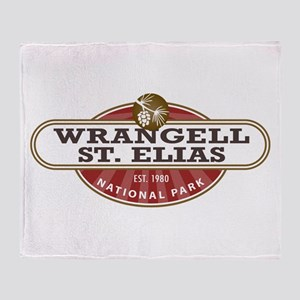 Wrangell St. Elias National Park Throw Blanket