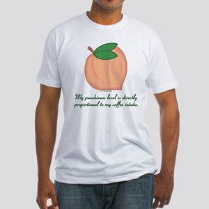 GA Peachiness Level Fitted T-Shirt