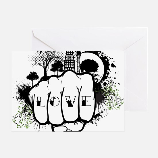 love-grunge-twitter Greeting Card