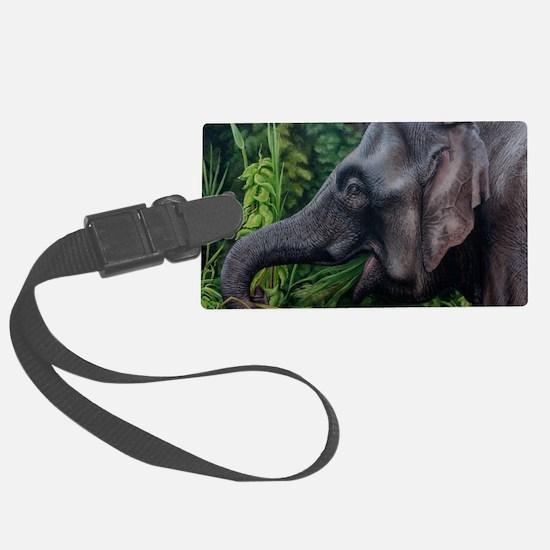 Pygmy Elephant Card Luggage Tag