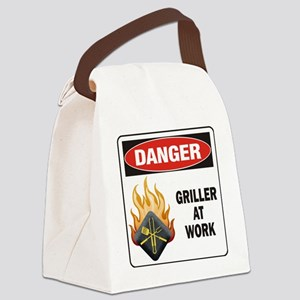 DN GM GRILLER WORK Canvas Lunch Bag