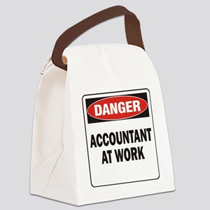 DN ACCOUNTANT WORK Canvas Lunch Bag