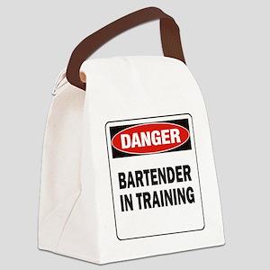 DN BARTENDER TRAIN Canvas Lunch Bag