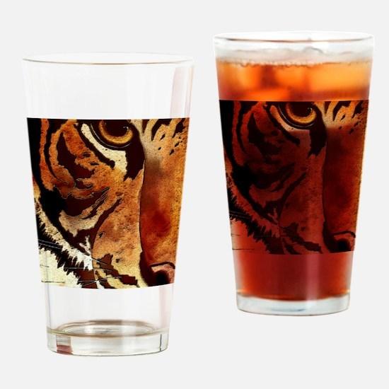 ipad_tiger Drinking Glass