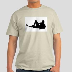 """Hank"" Natural Color T-Shirt"