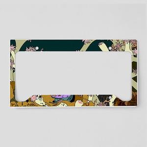 cafepressreef_11x17 License Plate Holder