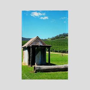 slider-Vineyard House Rectangle Magnet