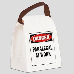 DN PARALEGAL WORK Canvas Lunch Bag