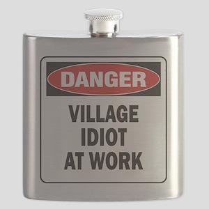 DN VILL IDIOT WORK Flask