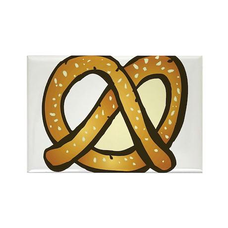 Pretzel Rectangle Magnet