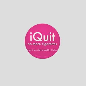 help QUIT smoking Mini Button