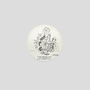 2175_lab_cartoon Mini Button
