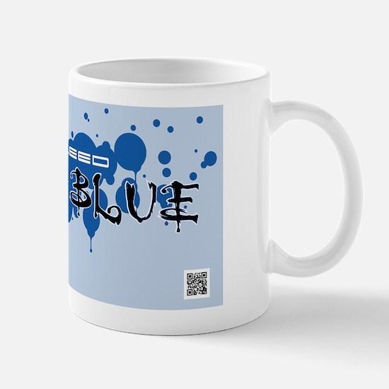 I_bleed_ford_blue_LP_png Mug