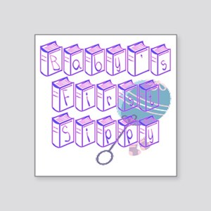 """Babys_First_Sippy Square Sticker 3"""" x 3"""""""