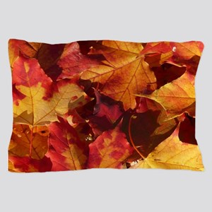 Autumn Thanksgiving Leaves Pillow Case